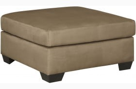 Darcy Mocha Oversized Accent Ottoman