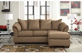 Darcy Mocha Chaise RAF Sectional
