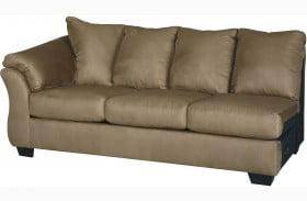 Darcy Mocha LAF Sofa