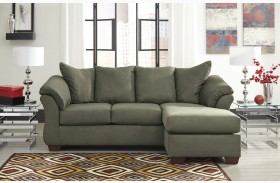 Darcy Sage Chaise Sectional