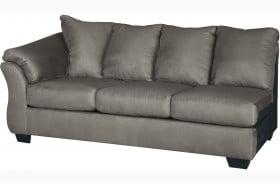 Darcy Cobblestone LAF Sofa