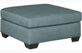 Darcy Sky Oversized Accent Ottoman