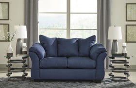 Darcy Blue Loveseat