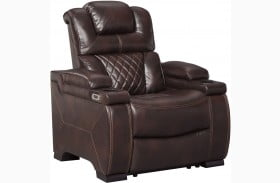 Warnerton Chocolate Power Recliner