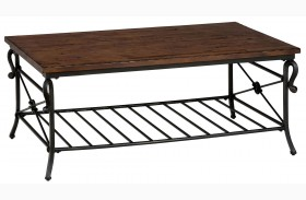 Rutledge Pine Cocktail Table