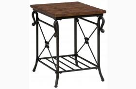 Rutledge Pine End Table