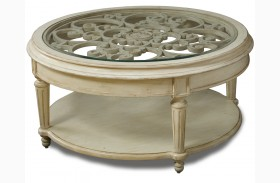 Provenance Round Cocktail Table