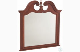 Cherry Grove Antique Cherry Landscape Mirror
