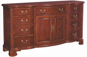 Cherry Grove Classic Antique Cherry Door Triple Dresser