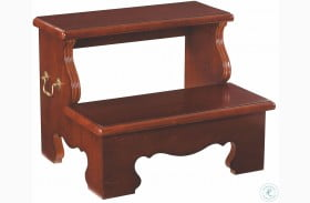 Cherry Grove Classic Antique Cherry Bed Steps