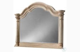 Belmar Antique Linen Starting Mirror
