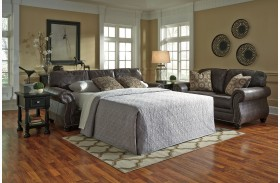 Breville Charcoal Queen Sofa Sleeper