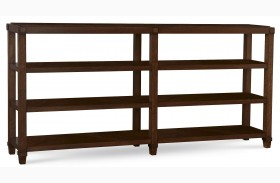 The Foundry Brownstone Crossroads Console Table