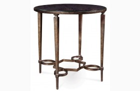 Marni Round Metal Table