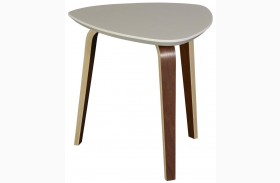 Tisdale Small Ivory End Table