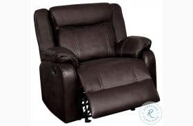 Jude Brown Glider Reclining Chair