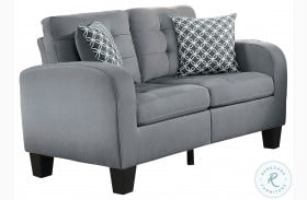 Sinclair Gray Loveseat