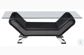 Veloce Black And Gray Cocktail Table