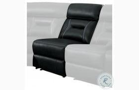 Amite Dark Gray Armless Power Reclining Chair