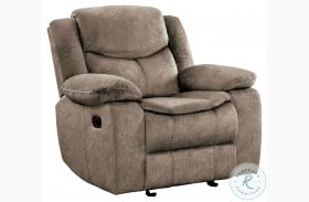Bastrop Brown Glider Reclining Chair