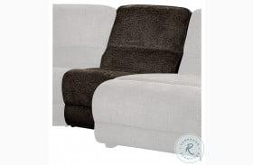 Shreveport Brown Finish Armless Chair