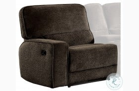 Shreveport Brown Finish LAF Reclining Chair