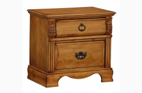 Georgetown Golden Honey Pine Nightstand