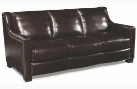 Carrington Madrid Espresso Leather Sofa