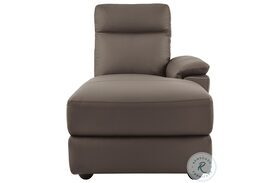 Olympia Brown Finish RAF Chaise