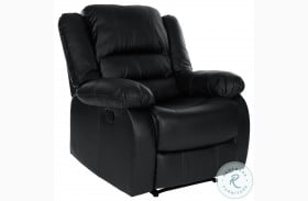 Jarita Black Reclining Chair
