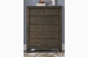 Modern Country 6 Drawer Chest