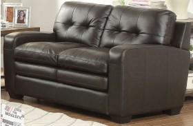Urich Chocolate Loveseat
