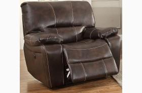 Timkin Dark Brown Power Reclining Chair