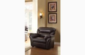 Stinett Dark Brown Chair