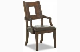 Carturra Rich Chocolate Arm Chair