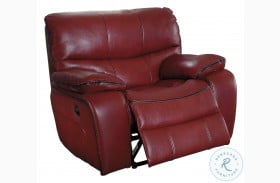 Pecos Red Power Reclining Chair