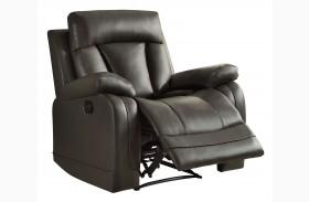 Ackerman Grey Reclining Chair