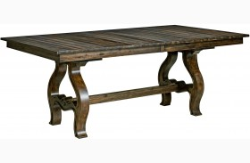 Wildfire Ember Extendable Trestle Dining Table