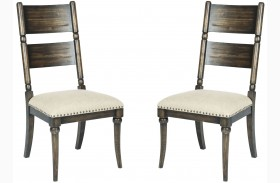 Wildfire Ember Side Chair Set of 2