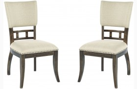 Wildfire Ember Upholstered Side Chair Set of 2