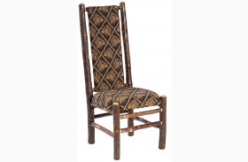 Hickory Standard Fabric High Back Upholstered Back Side Chair