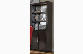 Platinum Bunching 1 Drawer Curio with Hutch