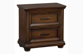 Vineyard Casual Tobacco Nightstand