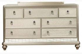 Diva Metallic Drawer Dresser