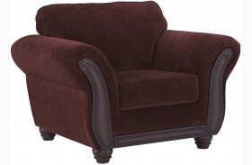 Chesterbrook Burgundy Chair