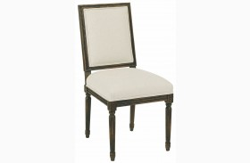 Artisans Shoppe Black Forest French Side Chair Set of 2