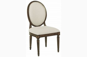 Artisans Shoppe Black Forest Oval Back Side Chair Set of 2