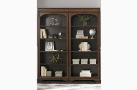 Chateau Valley Brown Cherry Bunching Bookcase