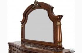 Grand Masterpiece Royal Sienna Dresser Mirror