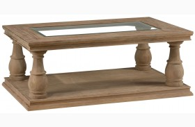 Big Sur Driftwood Brown Cocktail Table